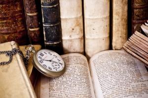 Libro orologio studiare, leggere